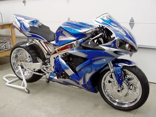 Most Excellent Custom Sport Motorcycle Paint Jobs 500 X 375 43 Kb Jpeg