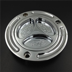 yamaha r6 gas cap chrome