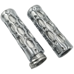 universal sportbike chrome holy grips