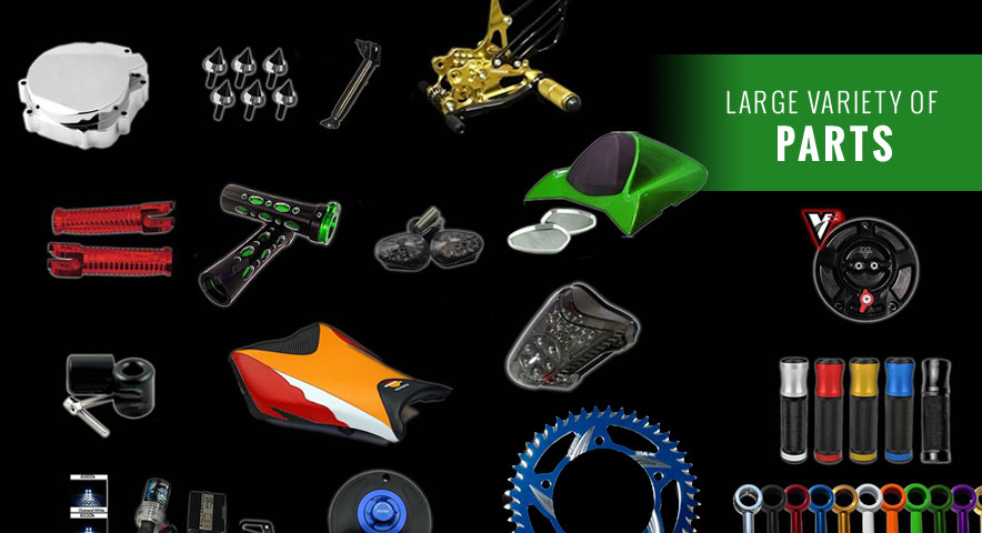 Sixty61 Custom Sportbike Parts Amp Chrome Spiked Accessories